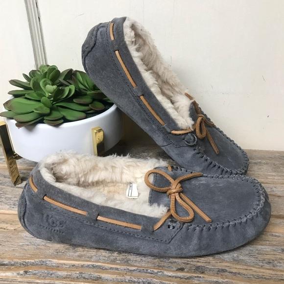 UGG Shoes - Ugg Dakota Slippers Grey Brown 6